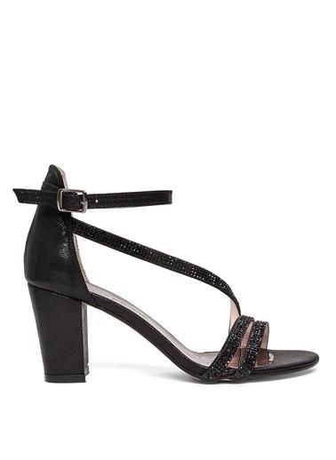 Sole Sisters Topuklu Sandalet Siyah - Olivi2 Siyah